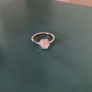 Jewelry - Opal Silver Ring Size 9